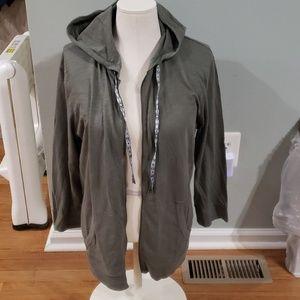 NWT Eddie Bauer cotton club full zip hoodie